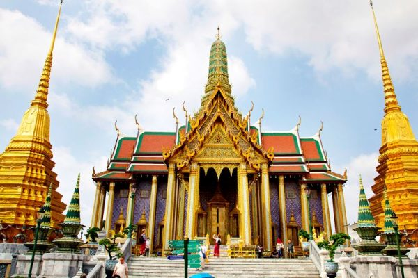 Grand Palace. Building In Bangkok. Thailand. (Photo by: EyeOn/UIG via Getty Images)